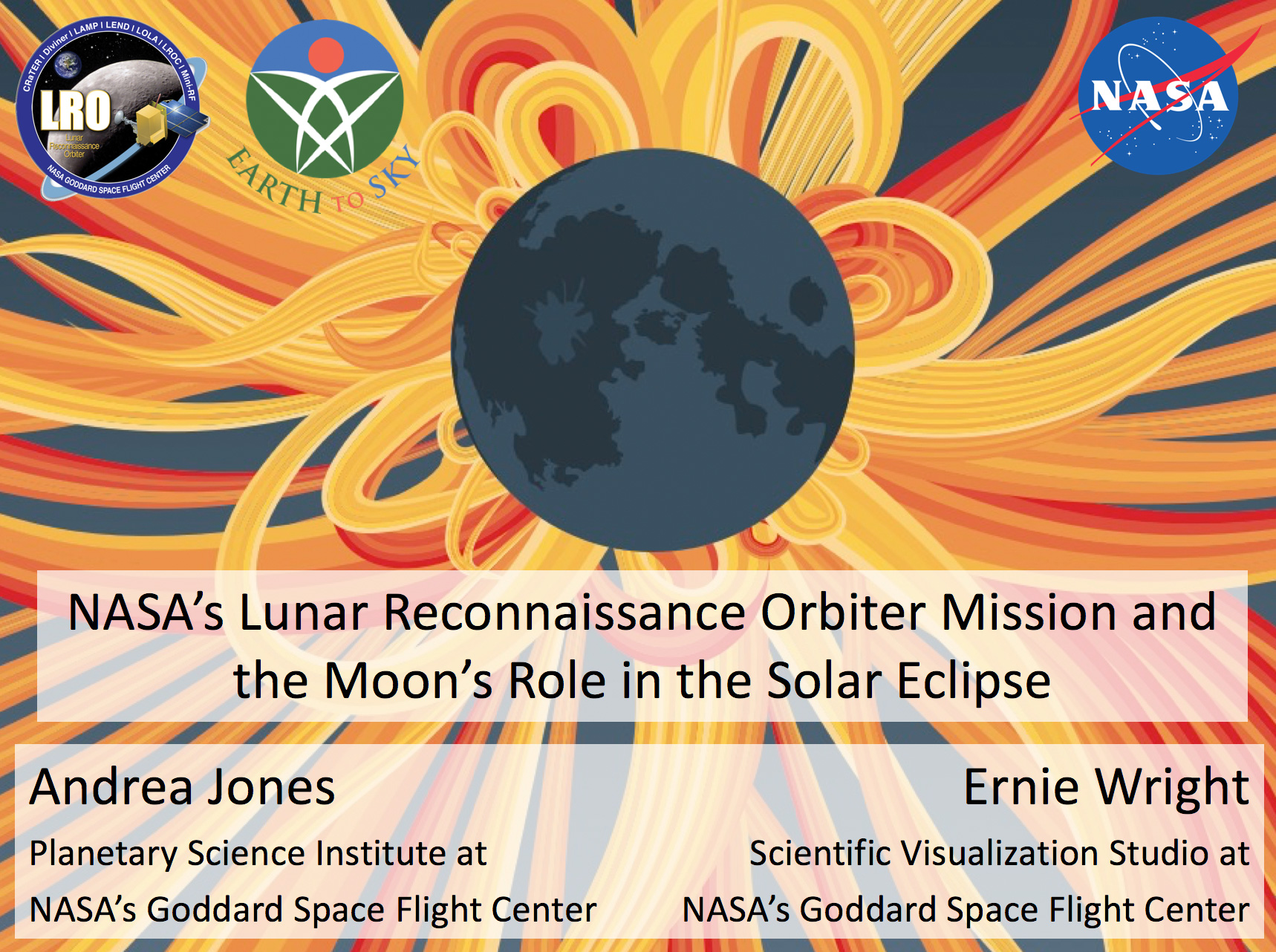 NASA's Lunar Reconnaissance Orbiter Mission and the Moon's Role in the Solar Eclipse