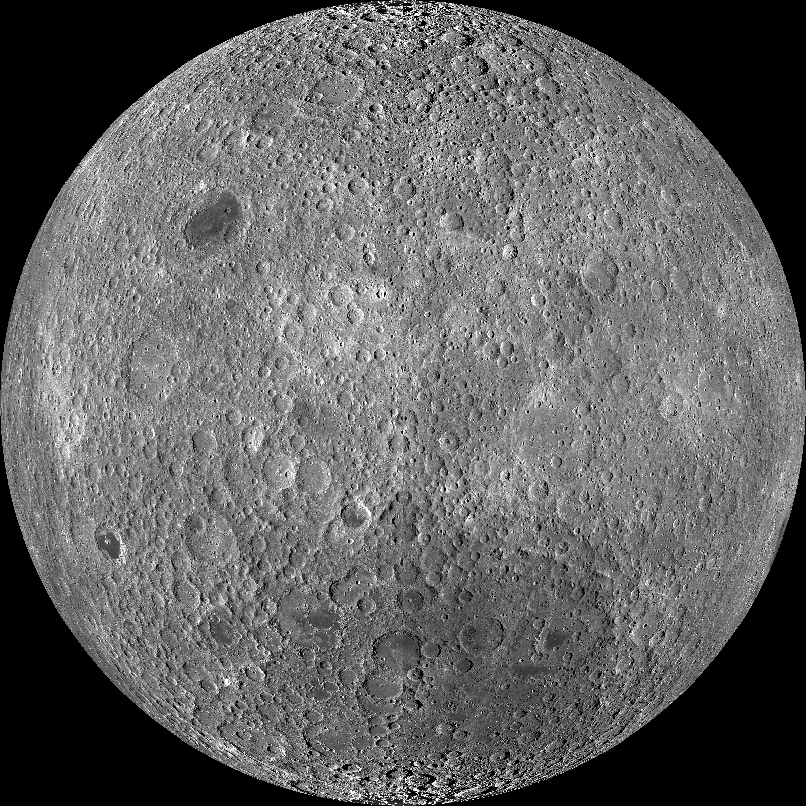 Picture of the Moon's far side