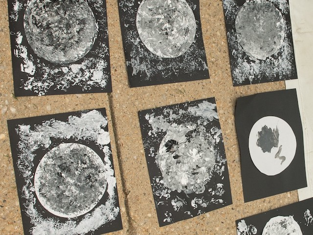 Paintings of the Moon