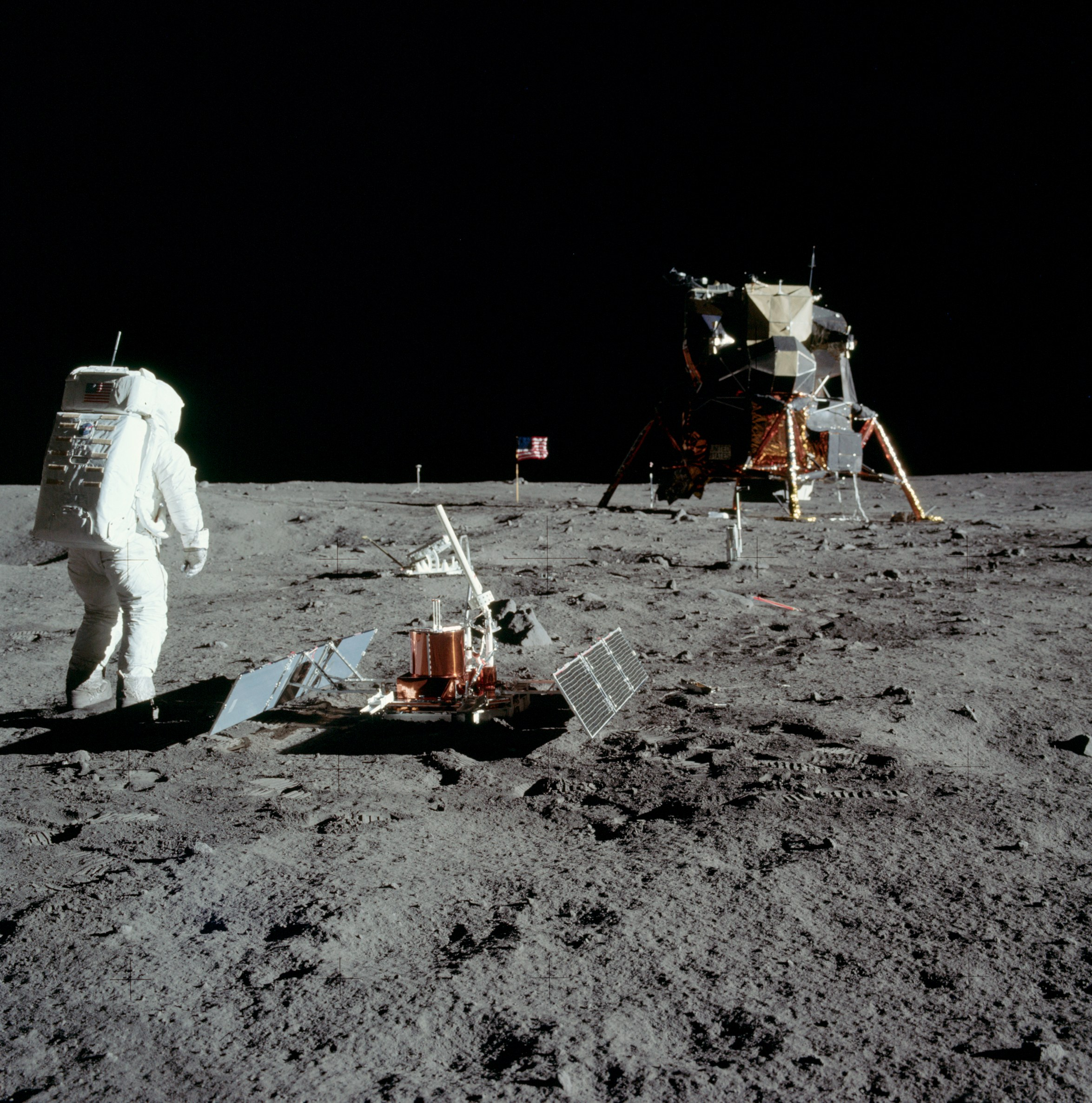 Apollo 11 Seismic Experiment