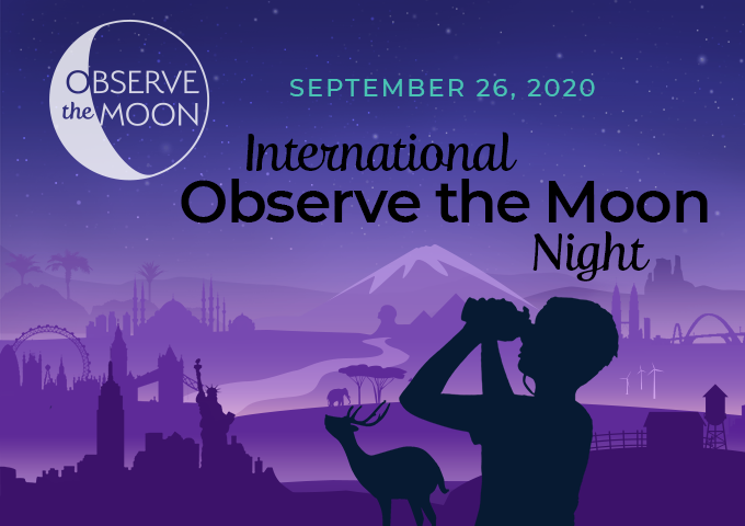 Recording of the International Observe the Moon Night broadcast on NASA TV.