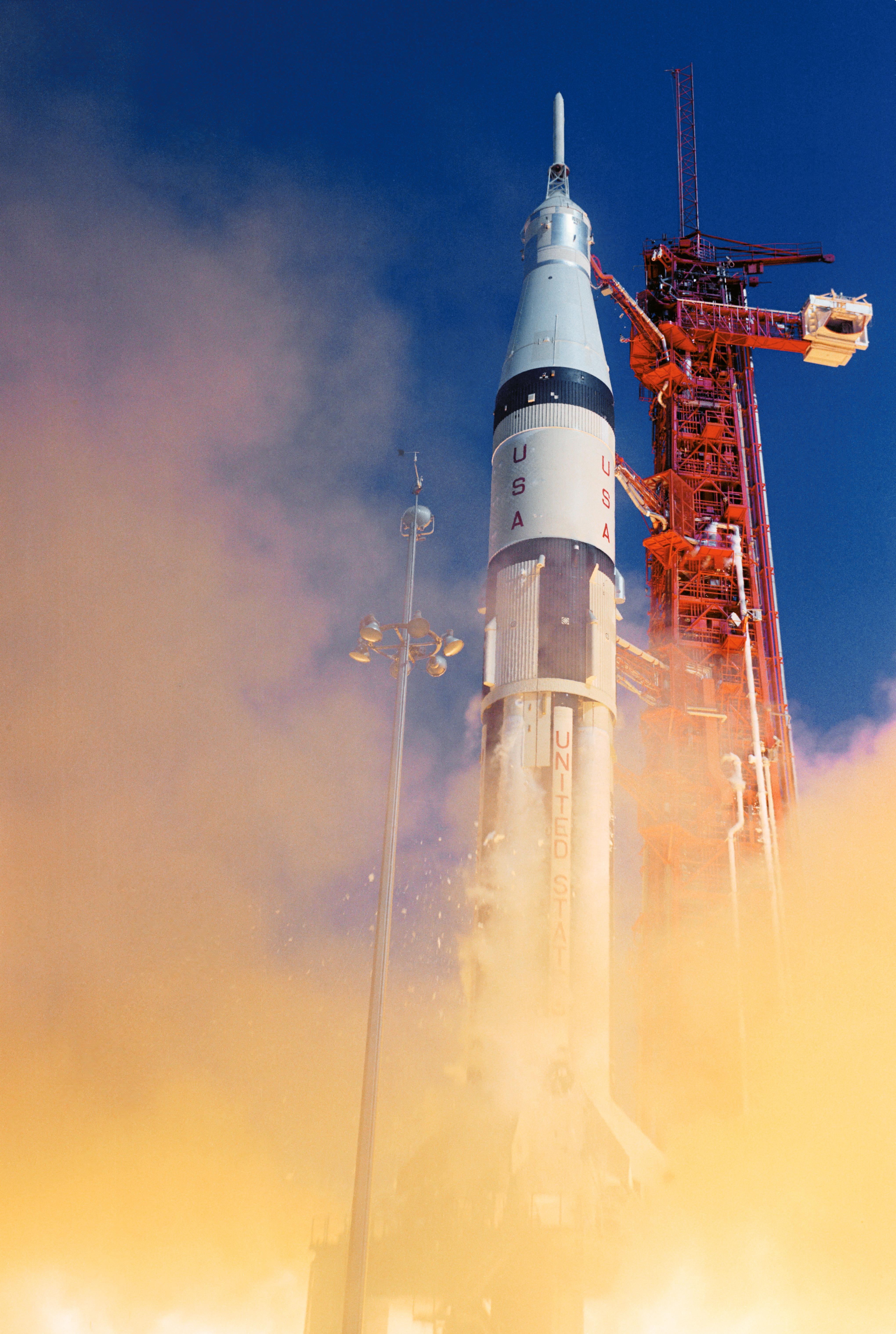 Apollo 7 Launch Moon Nasa Science