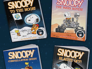 Peanuts Toys and Books Commemorate 50th Anniversary of Apollo
