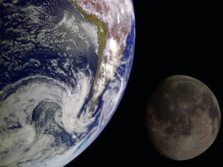 Earth and Moon Once Shared a Magnetic Shield, Protecting Their Atmospheres