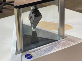 Moon Rock on Loan to the White House