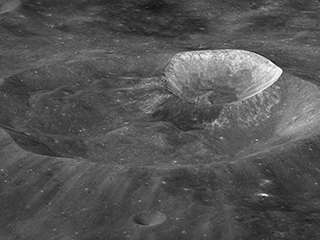 Lunar Crater Named After Former NASA Chief Exploration Scientist