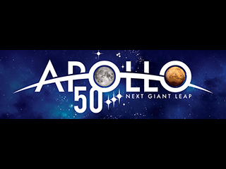 NASA Releases Logo to Mark Apollo's 50th Anniversary