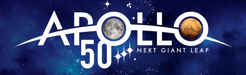 apollo 50th logo