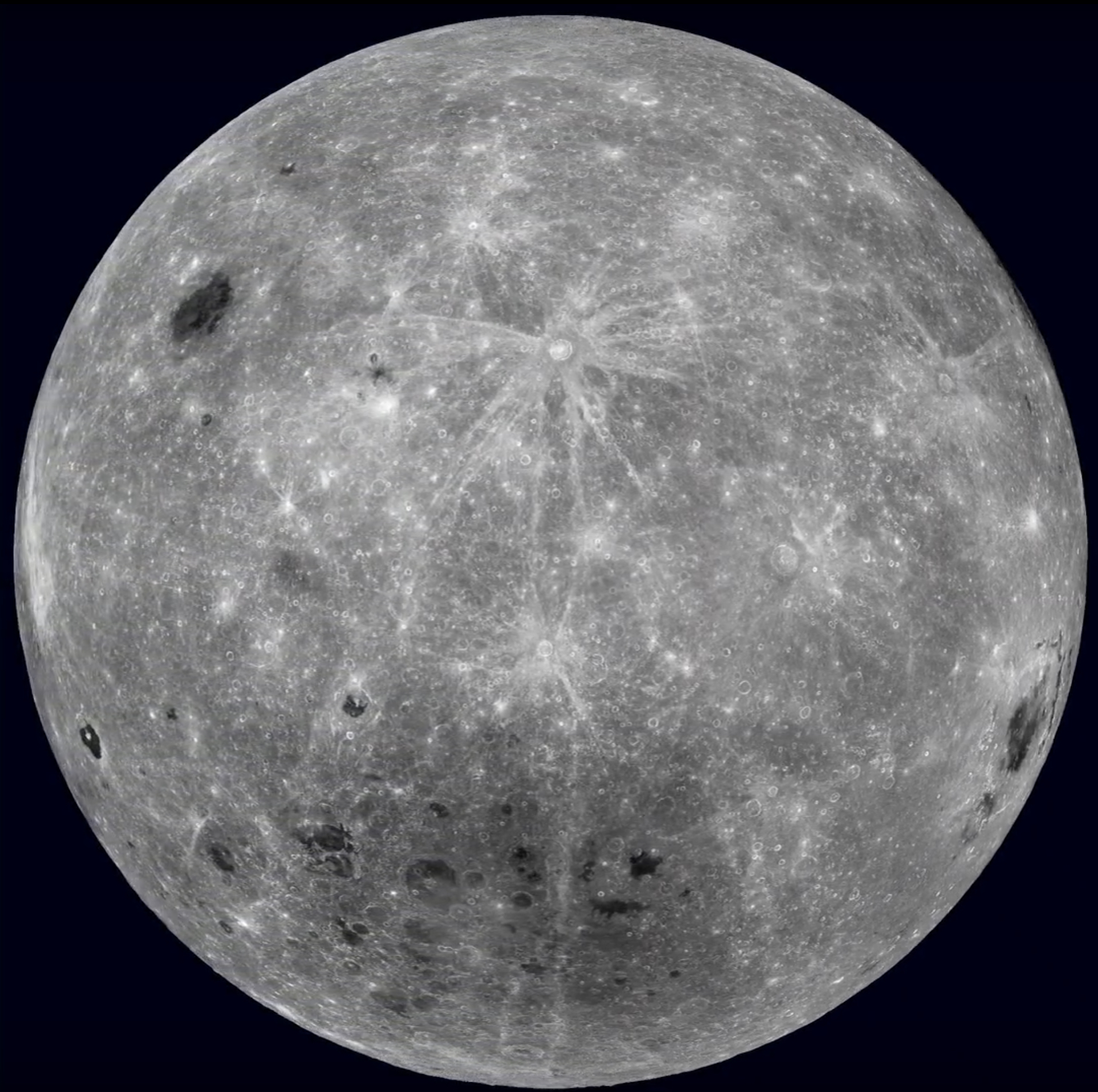 Far side of Earth's Moon