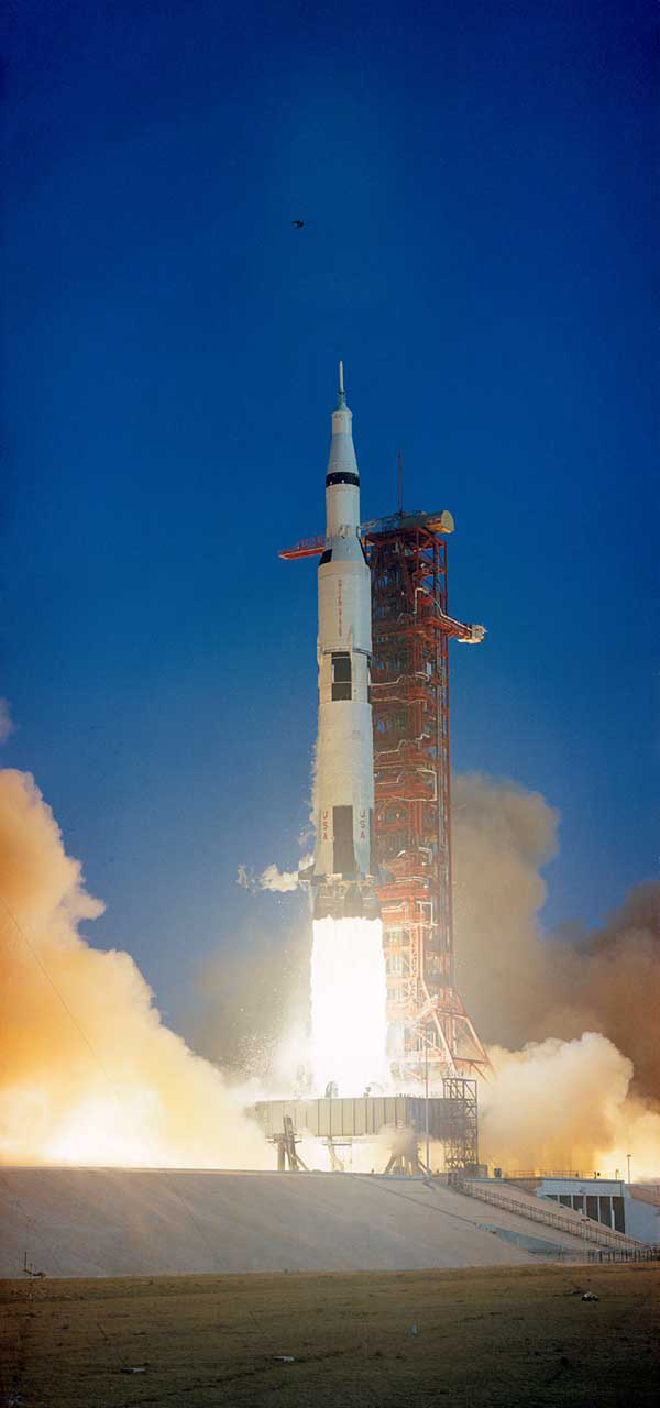 Apollo 6 spacecraft launch