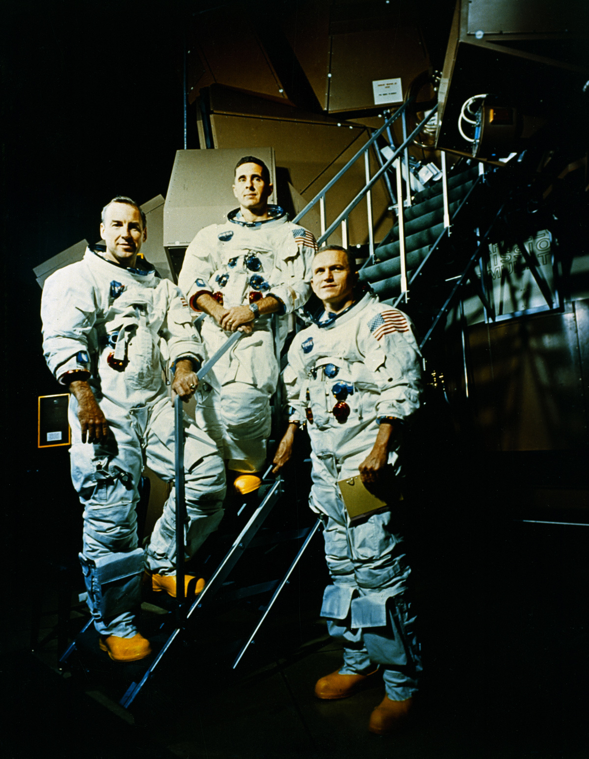 Crew of Apollo 8 mission