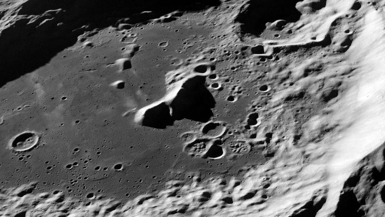 Surface of Moon